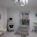 Behandlungsraum mit Ultraschall